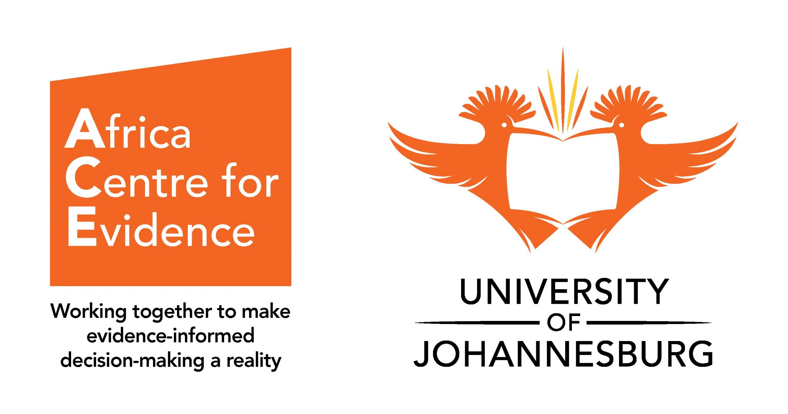 Africa Centre for Evidence Logo with Slogan
