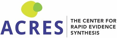 Center for Rapid Evidence Synthesis Logo