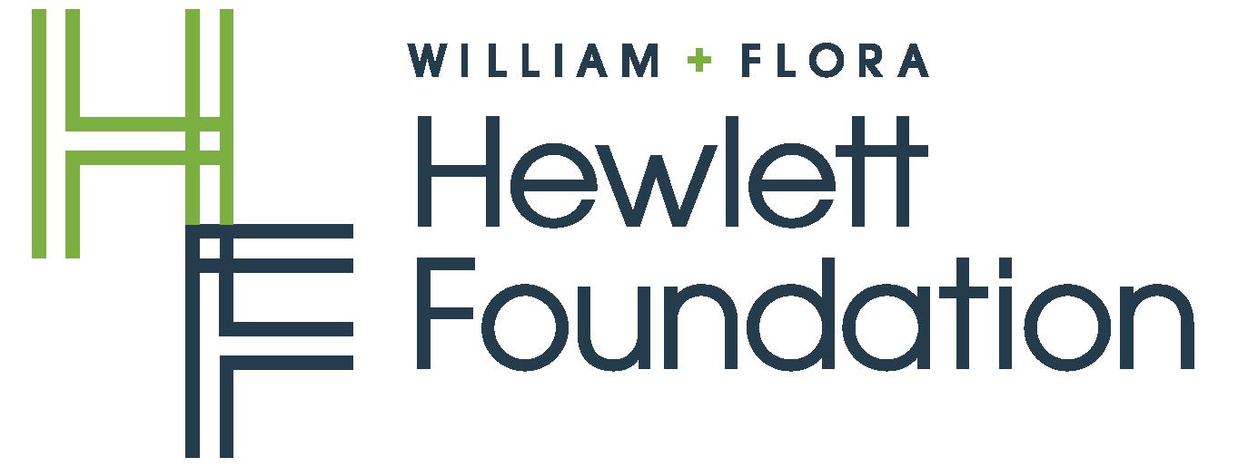 William + Flora Hewlett Foundation logo